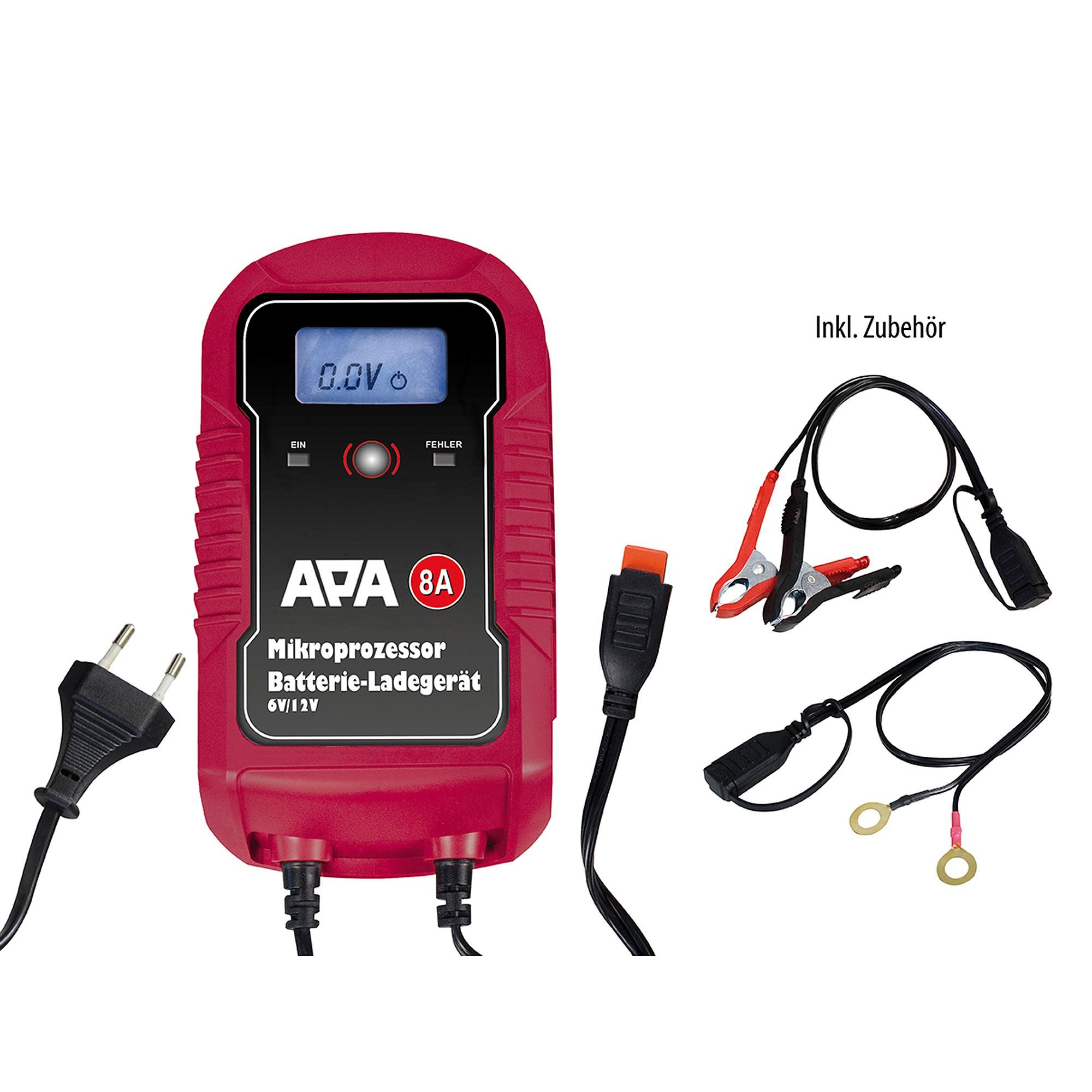 APA Mikroprozessor Batterie Ladegerät 612V 8A