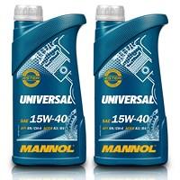 2x 1 L Universal 15W-40
