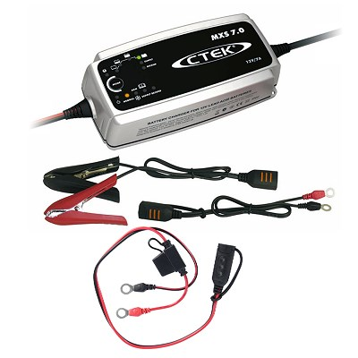 CTEK Batterieladegerät MXS 7.0 + Comfort Indicator 1,5m