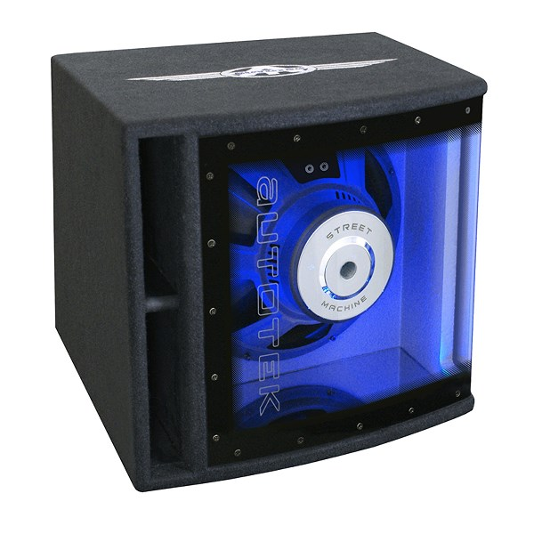 autotek street machine 30 cm subwoofer a350bp atp autoteile. Black Bedroom Furniture Sets. Home Design Ideas