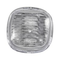 Blinker seitlich weiß eckig ohne Lampenträger