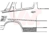 Türblech, Reparaturstück, H=20cm, zum versteigern