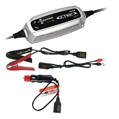 CTEK Batterieladegerät XS 0.8 + 12V Schnellverbinder