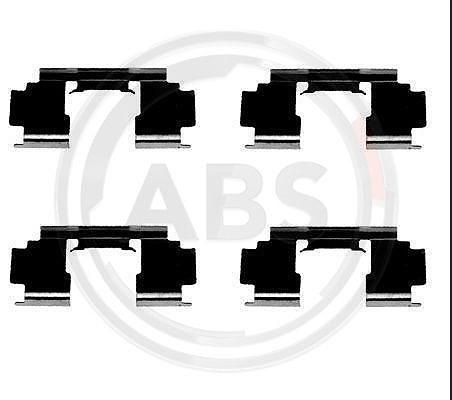Scheibenbremsbelag QUICK BRAKE 109-1276 Zubehörsatz