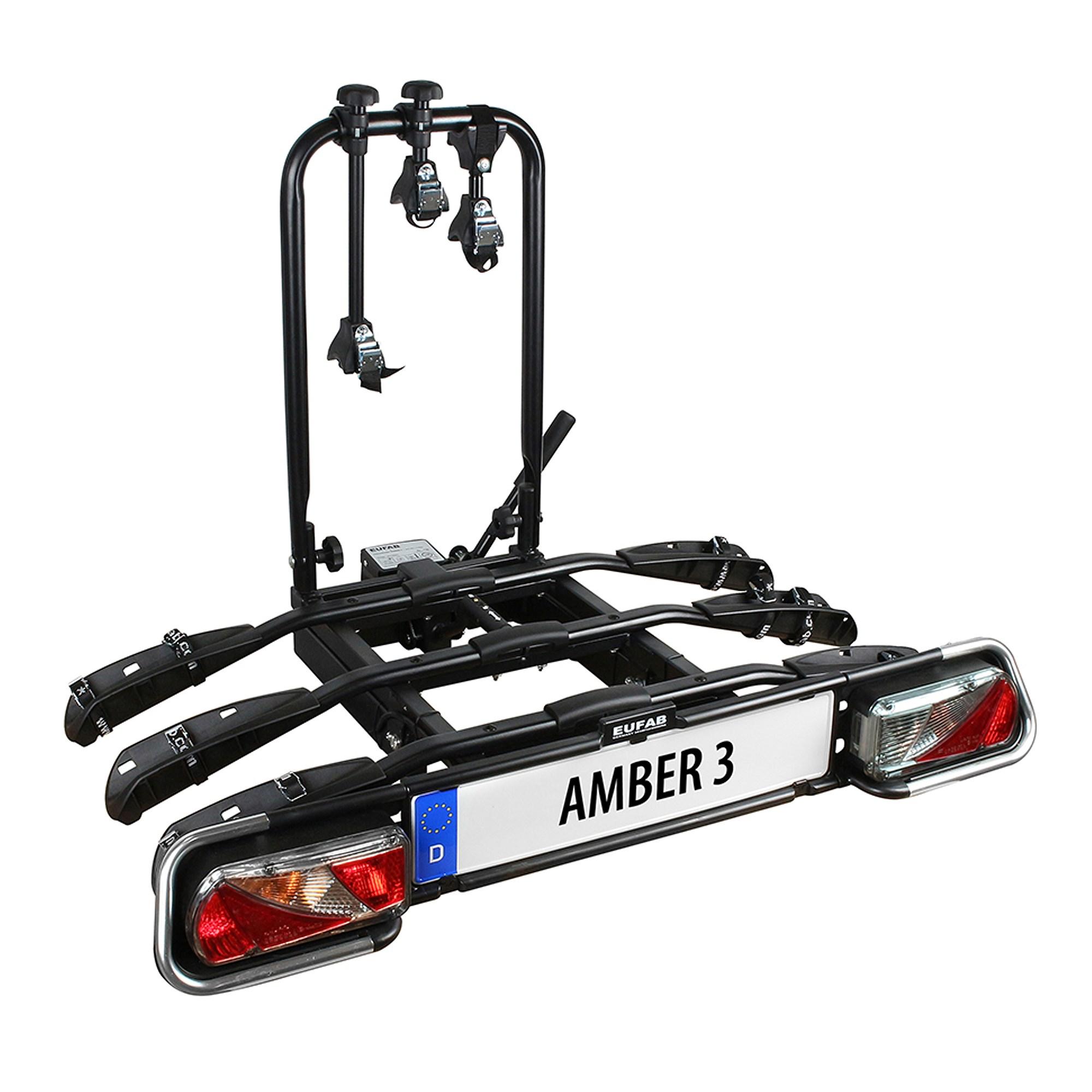 Eufab Fahrradträger Amber 3 (Geeignet für: 3 Fahrräder, Max