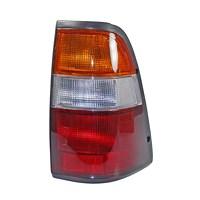 Heckleuchte gelb/rot, mit Lampenträger
