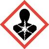 warning symbol für Gesundheitsschädlich