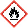 warning symbol für Leichtentzündlich