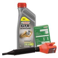 1 L GTX Ultraclean 10W-40 A3/B4 + Ölwechsel-Anhänger + Trichter