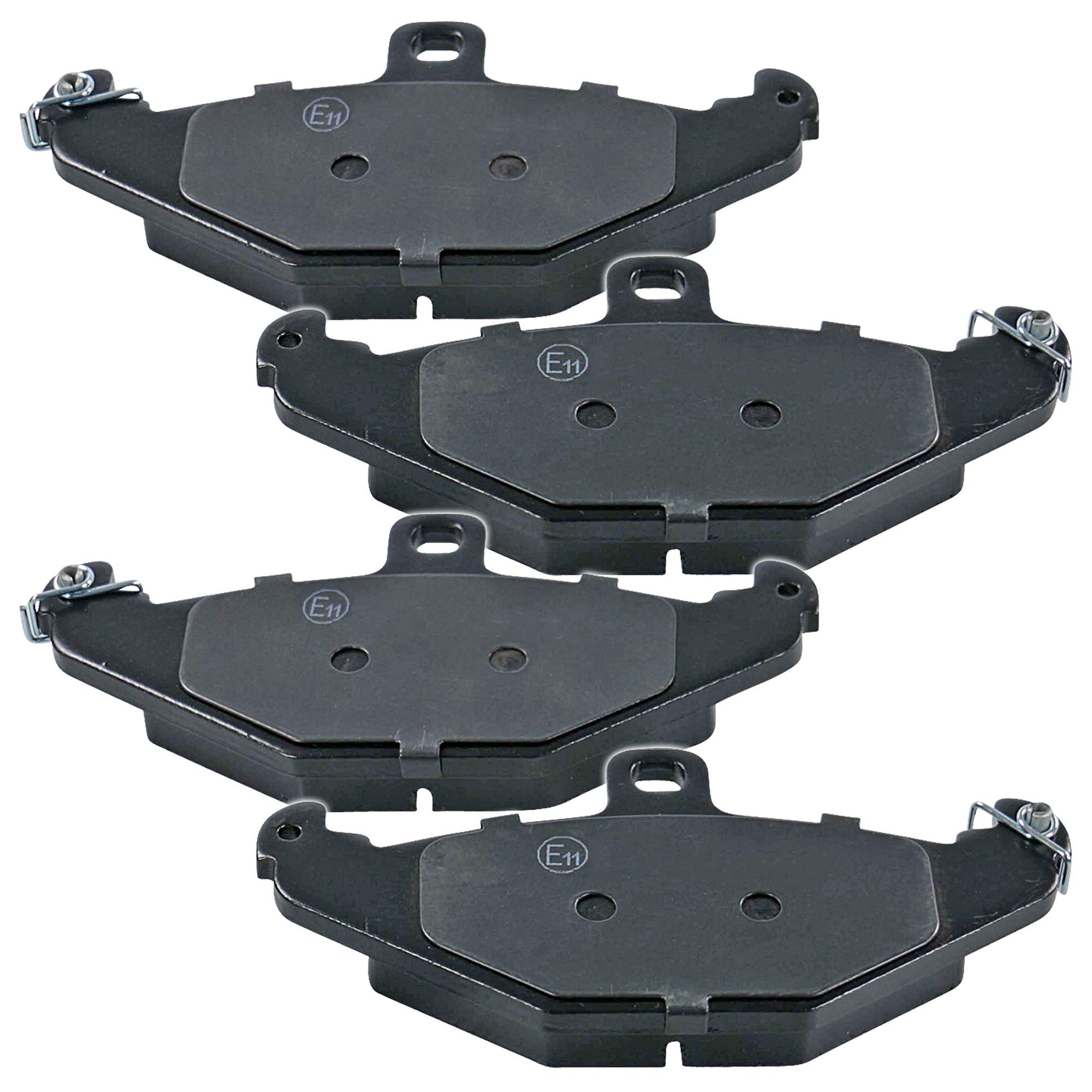Scheibenbremse BARUM BA2107 passend für RENAULT 1 Bremsbelagsatz